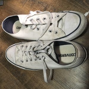 Chuck Taylor Converse All Star White Low Tops